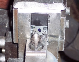 Part position verification in a weld cell