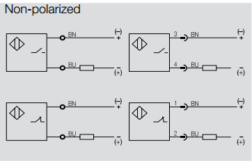 back to the basics how do i wire a dc 2 wire sensor? automationpolarizeddiagrams non polarized diagrams