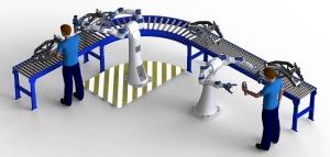 Image provided by Yaskawa America, Inc., Motoman Robotics Division